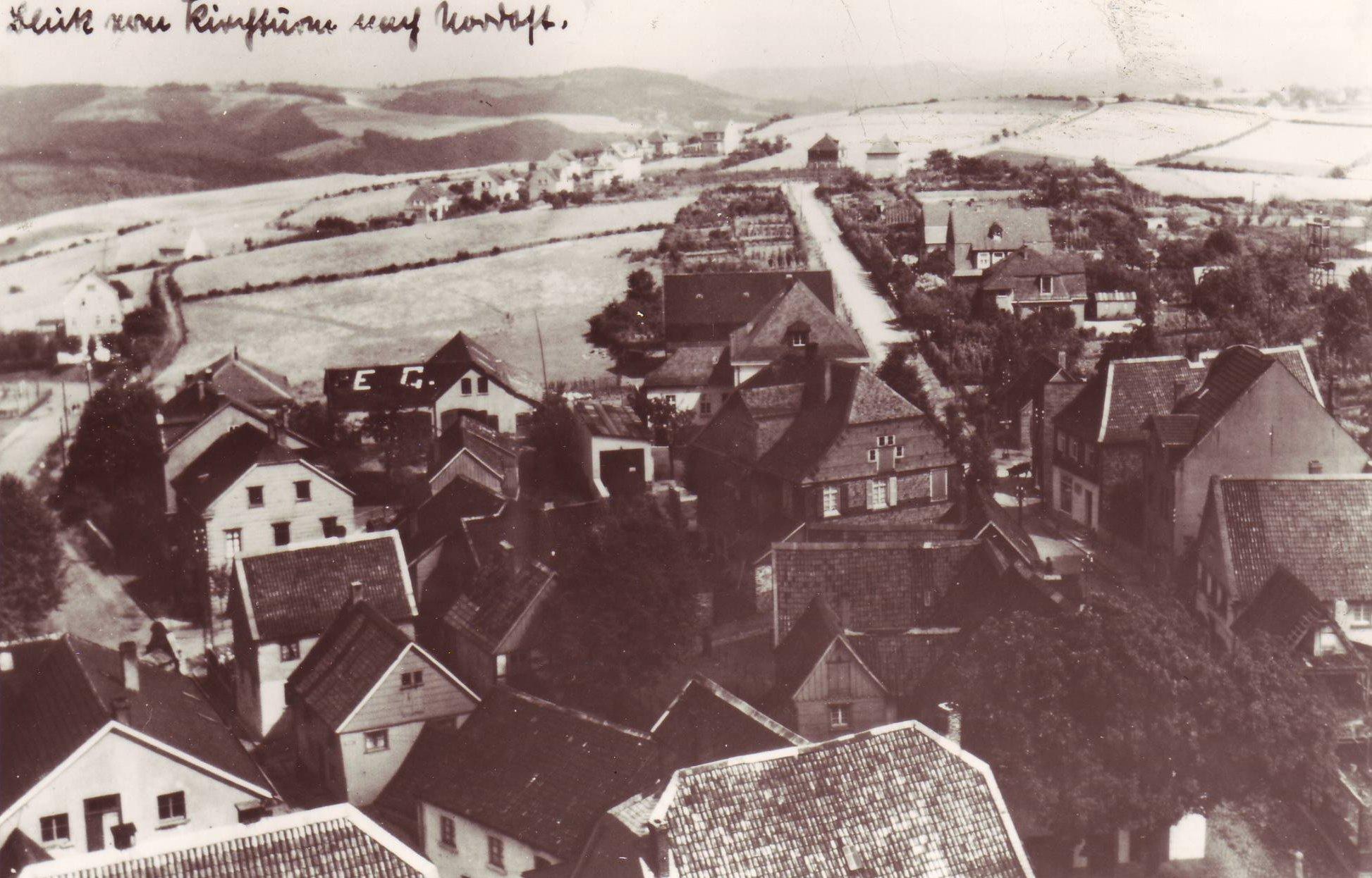 Blick auf Epscheider Straße