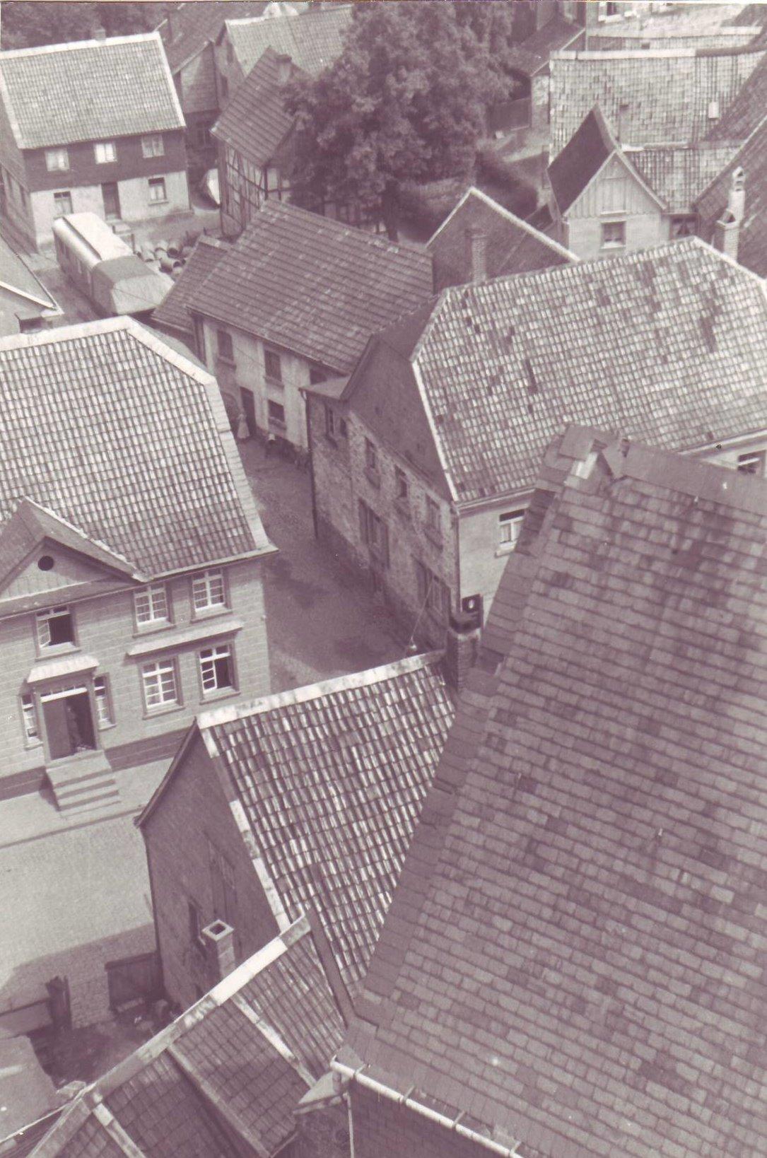 Blick von oben Denkmalstraße II