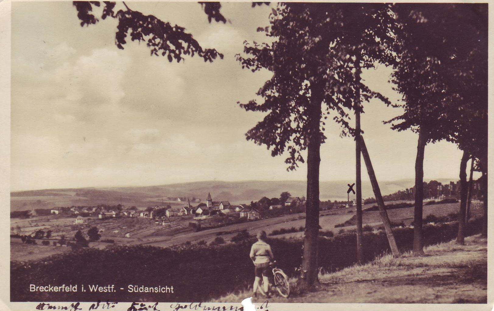 Breckerfeld um 1930 von Otto Wippermann