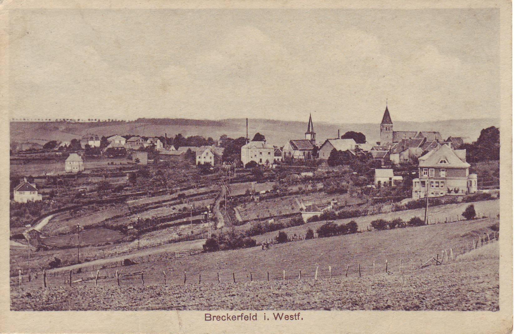 Breckerfeld um 1936 von Otto Wippermann