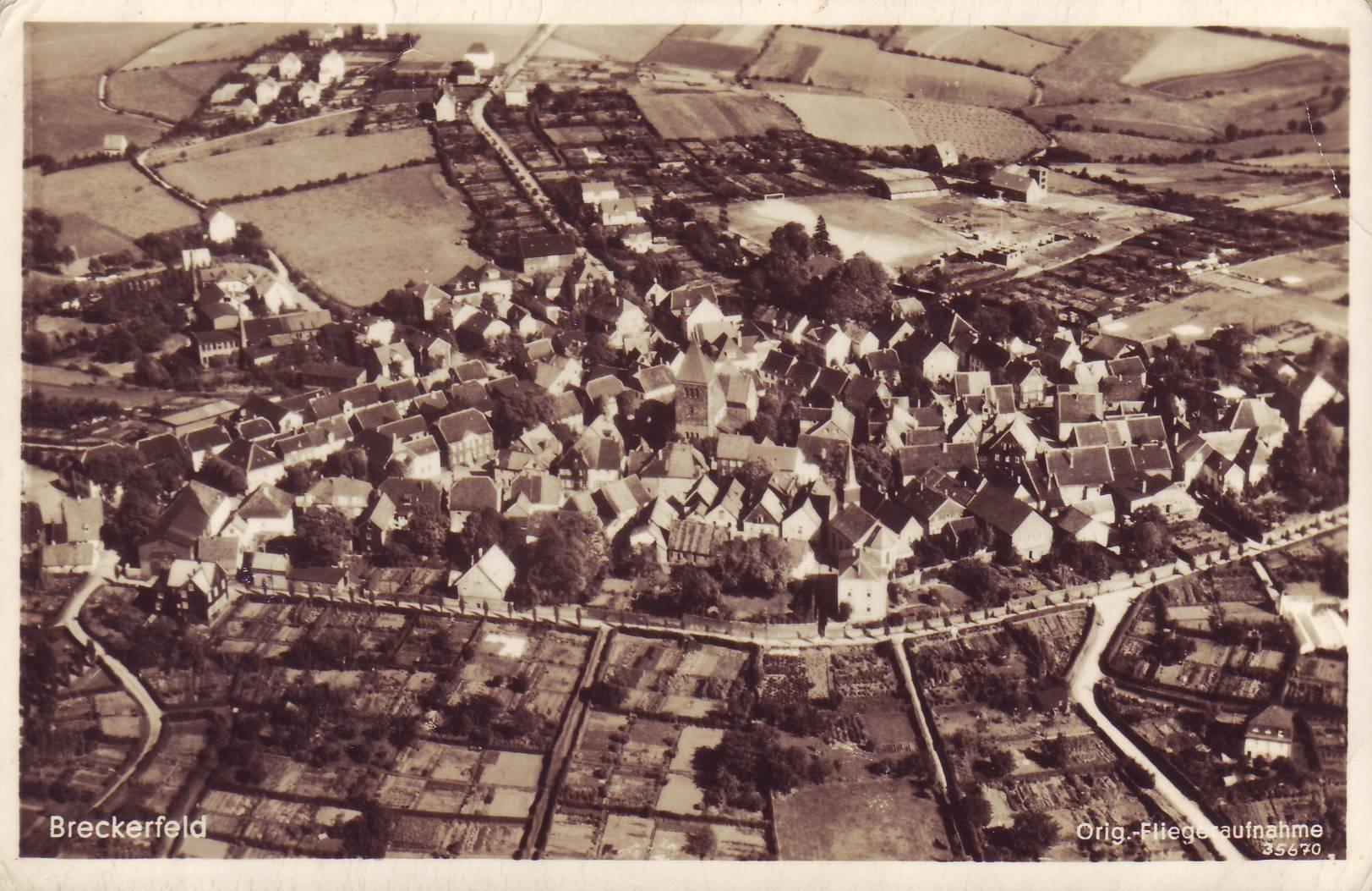 Luftbild von Otto Wippermann