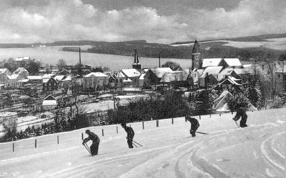 Skifahrt-his