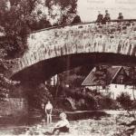 Alte Brücke mit Glörmühle
