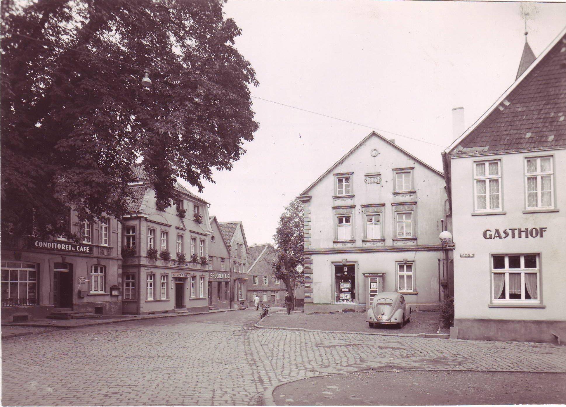 Frankfurter Ecke Schulstraße 1952