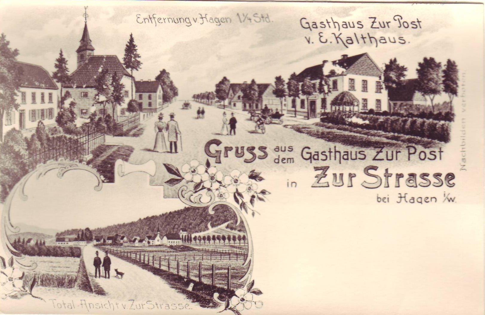 Postkarte Zurstraße