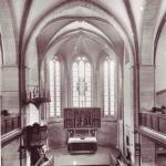 Evangelische Kirche-Altar vor 1930