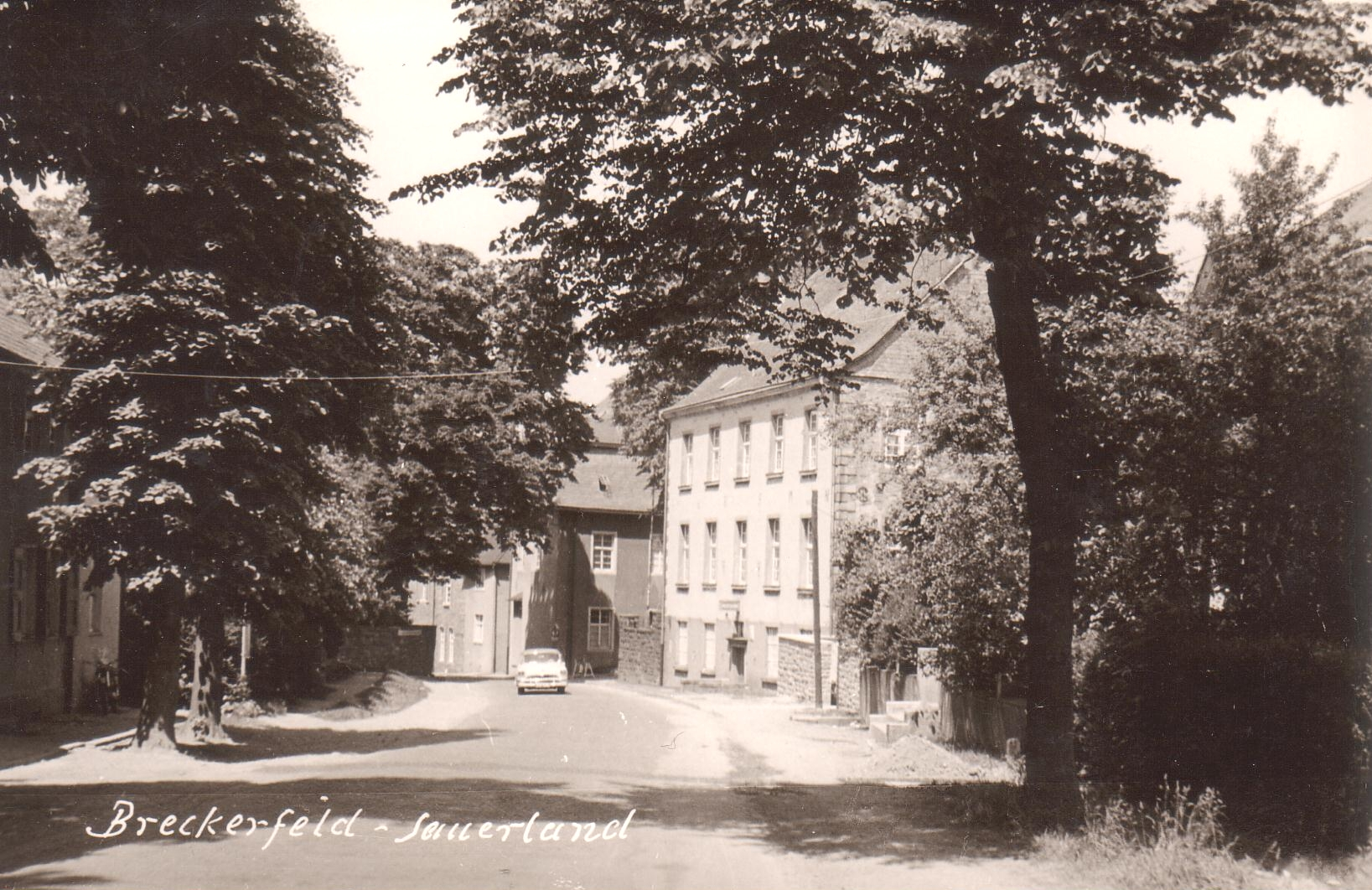 Amtshaus-nördliche Ortse