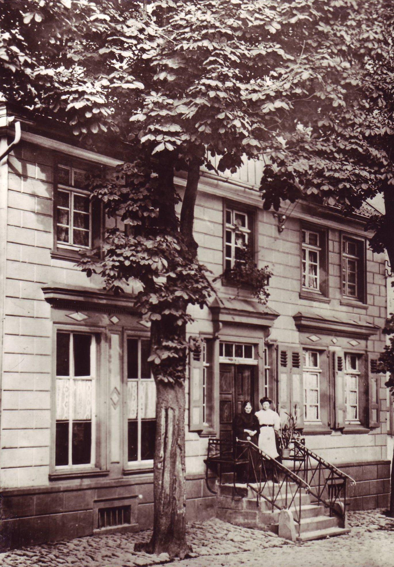 Denkmalstraße Haus Wach