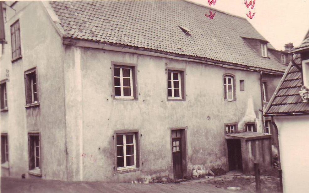 Erbaut1763 1820 abgebrochen 1963