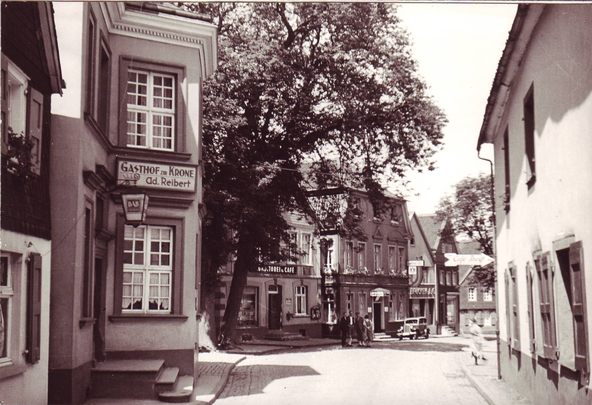 Gasthof zur Krone vor 1939