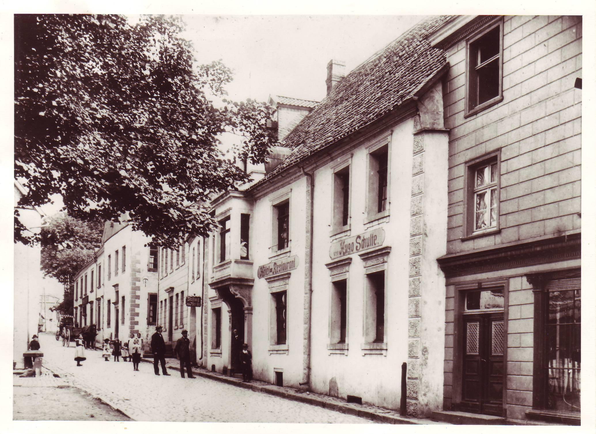 Gaststätte Hugo Schulte seit 01.09.1910