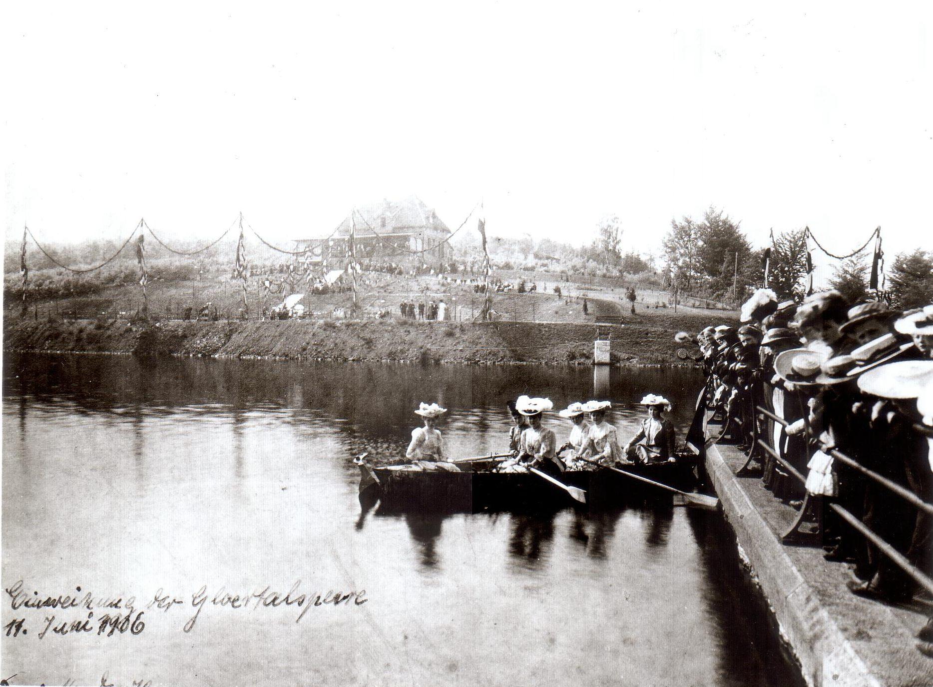 Glörsperre 1906
