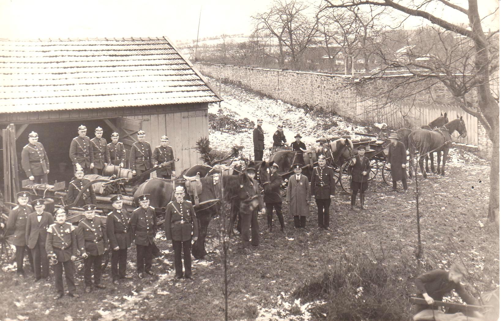 Feuerwehr 1937 von o.Wippermann